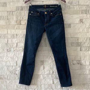 7 for All Mankind Kimmie Crop Slim Illusion
